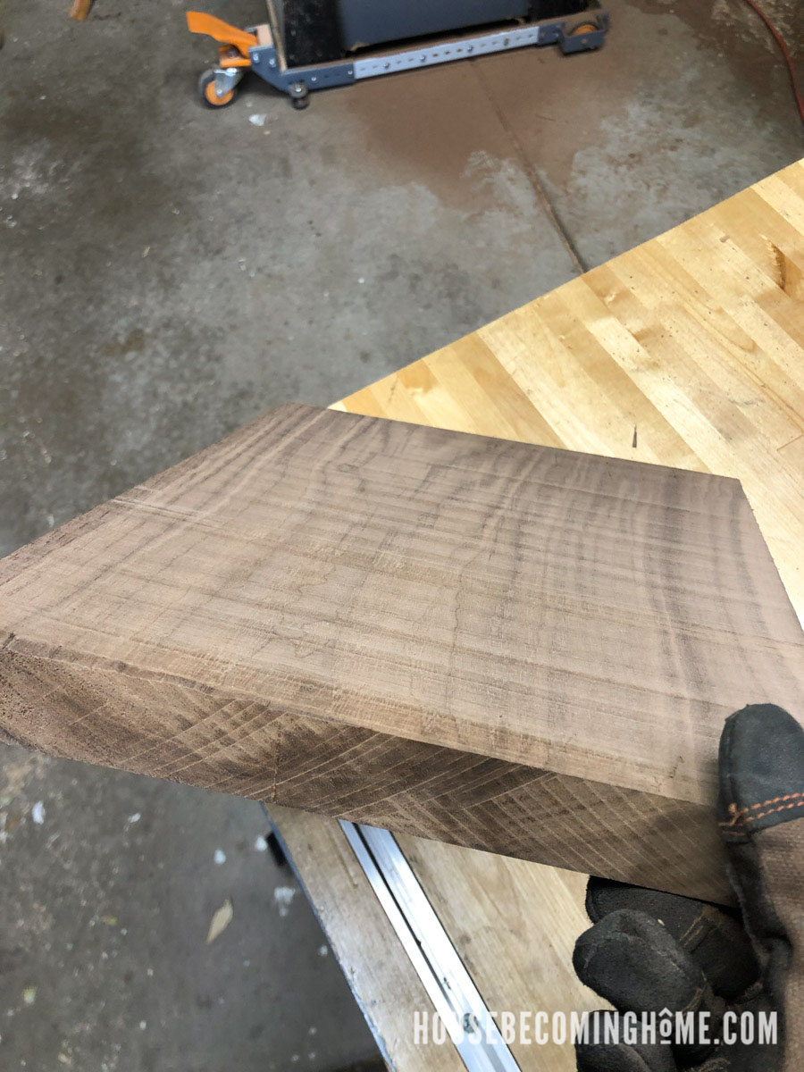 Rough Cut Walnut