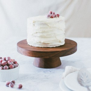 How to Make a Wood Cake Display