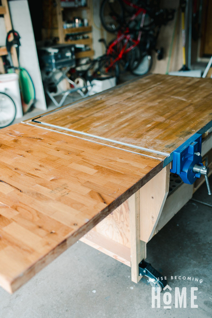 Assembly Table Extra Leaf