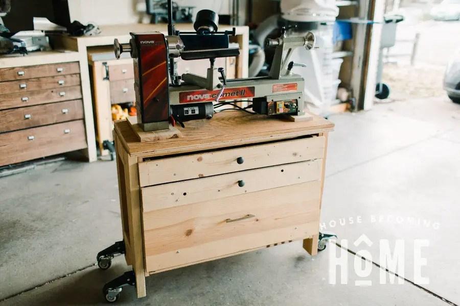 DIY Portable Midi Lathe Stand
