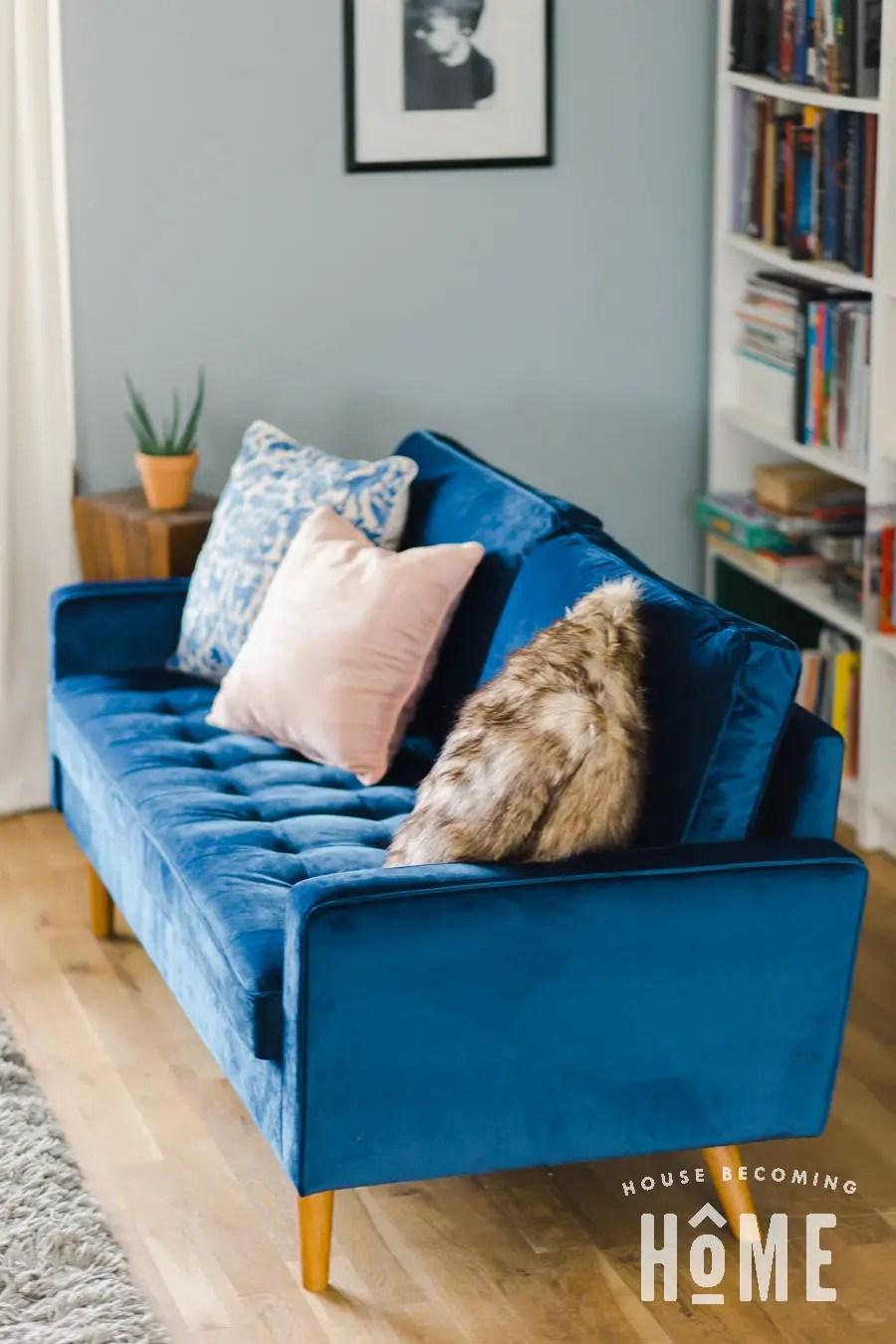 Womble Space Blue Sofa