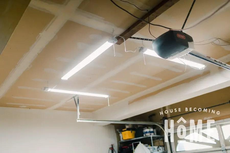 Garage Workshop LED Lighting