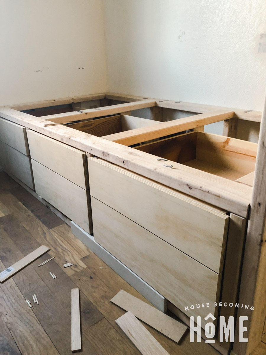 Add Faces to Bed Drawer Fronts