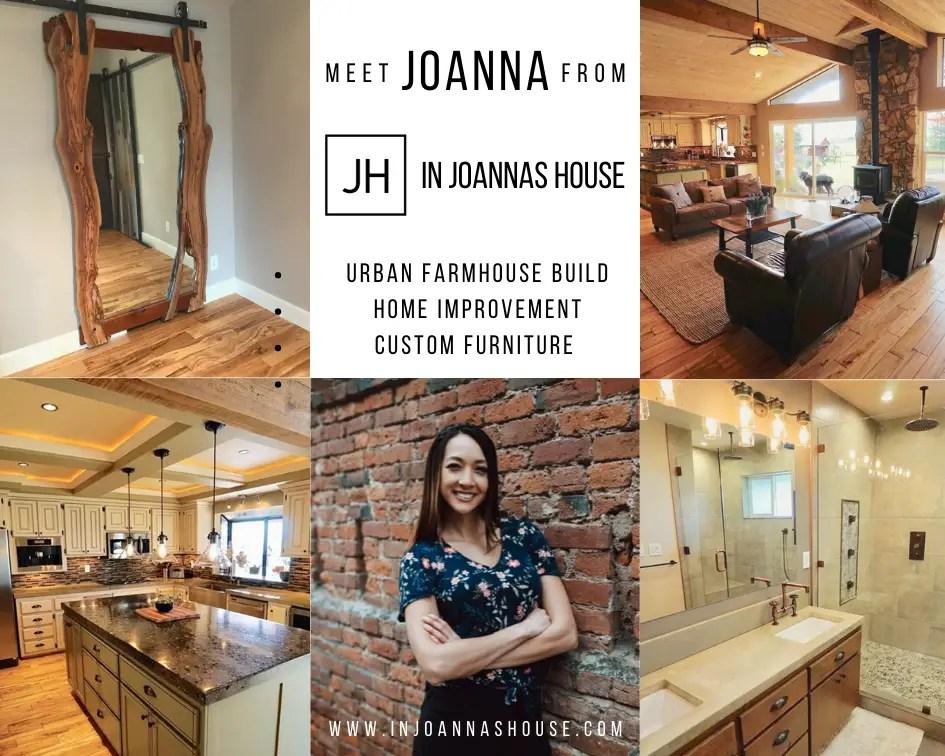 In Joanna's House Blog