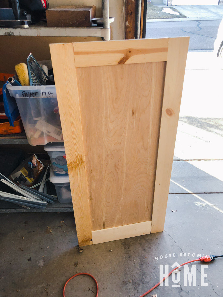Large Door for Bunk Bed Side Compartment