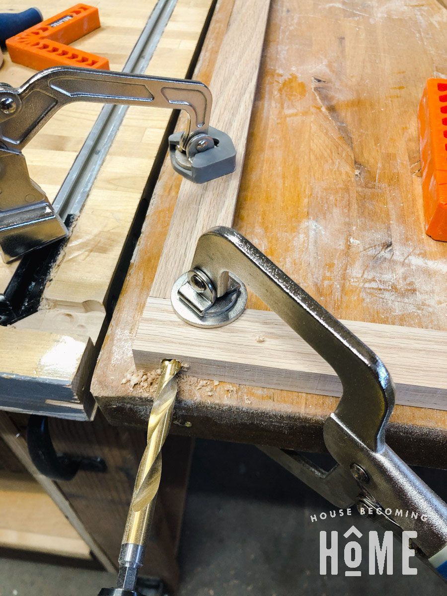 Making Guard Rails for Bunk Bed