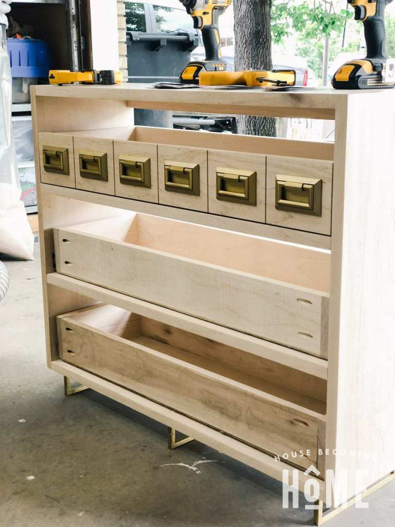 Drawer Front Attached