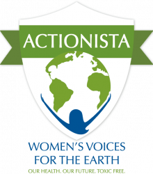 Womens voices for the earth logo