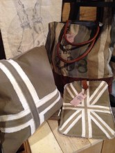 union jack pillow and iPad cover