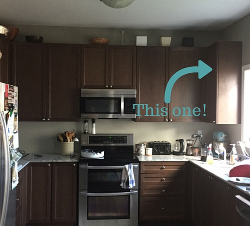 Corner Kitchen Cabinet
