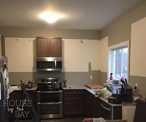 Kitchen Cabinets Uninstalled