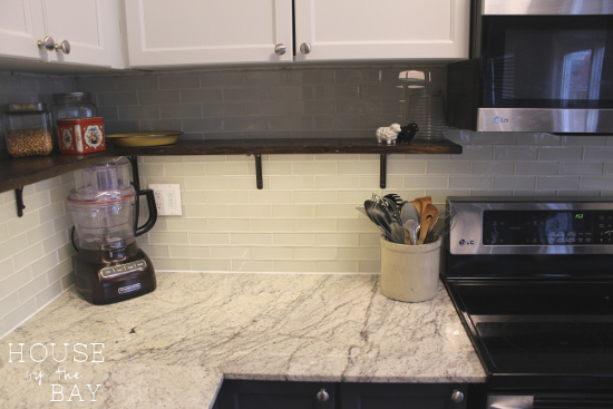 Kitchen Makeover - Kitchen Shelves