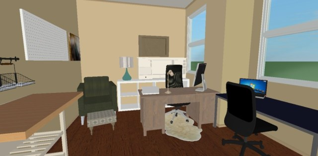 Office Makeover Layout