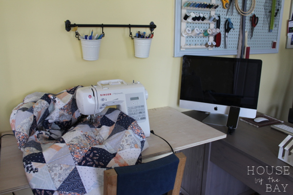 Office Makeover Sewing