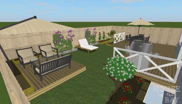 Backyard Oasis Plan