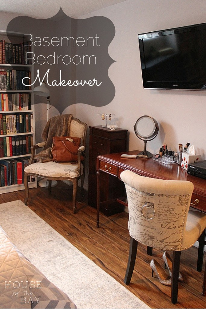 Basement Bedroom Makeover