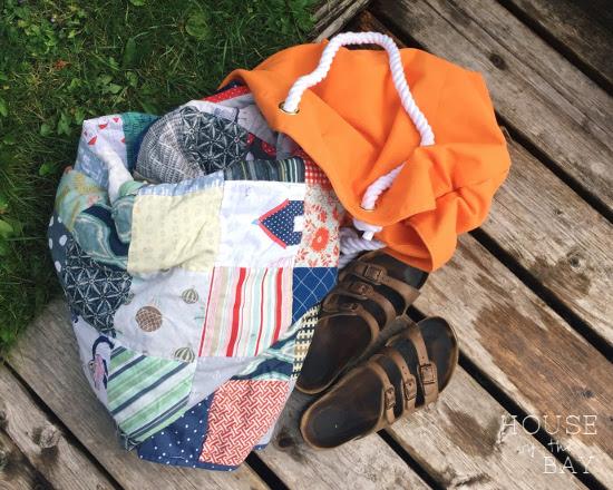 Beach Quilt Bag