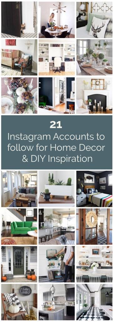 21 Instagram accounts to follow for home decor & DIY inspiration from @housebythebay