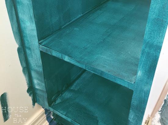one room challenge bathroom vanity behr alkyd enamel paint
