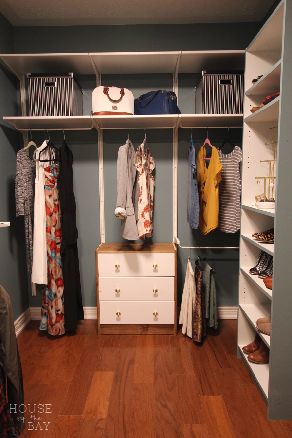 Master Bedroom Walk-Through Closet Reveal | Spring One Room Challenge | House by the Bay