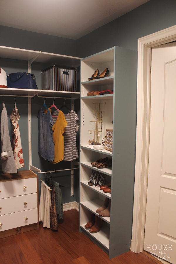 Master Bedroom Walk Through Closet Reveal | Spring One Room Challenge |  House By The