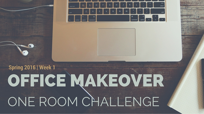 finished office makeover. Office Makeover - One Room Challenge Finished