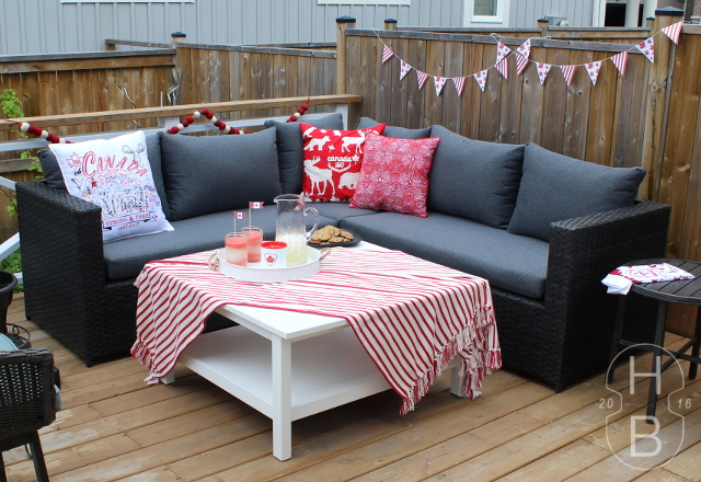 Canada Day Decorating | House by the Bay Design