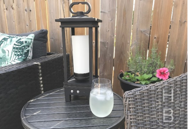 Kichler South Hope Lantern | Tips for Outdoor Entertaining | House by the Bay Design