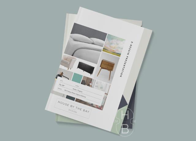 E-Design Design Plan Presentation Interior Decorating