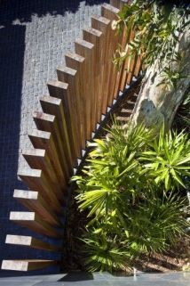 Vertical timber fence
