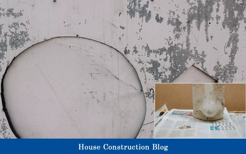 Cost to build a house yourself: Concrete damages