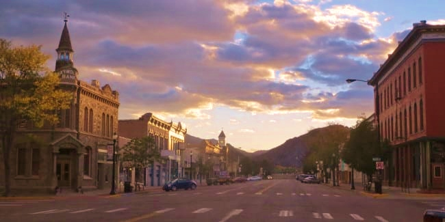 charming small town in Colorado