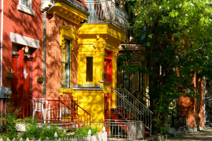 Plateau Mont-Royal houses