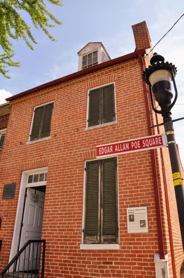 Edgar Allan Poe House in Baltimore