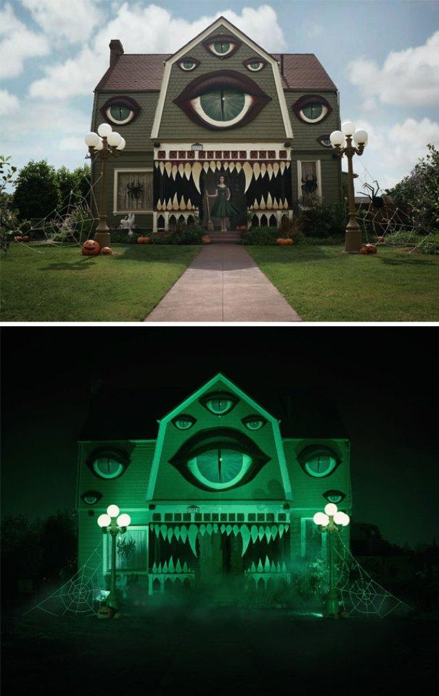 crazy Hallooween house