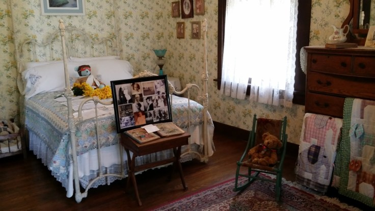 inside the Amelia Earhart Birthplace house museum