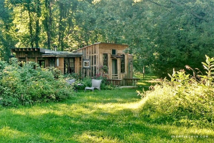 charming rustic cabin for rent in Argyle New York