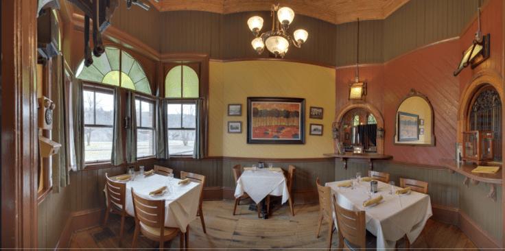 interior of Windsor Station Restaurant