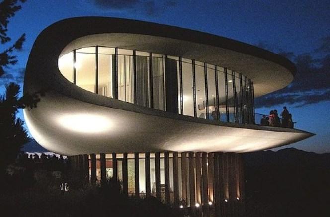 Colorado spaceship house