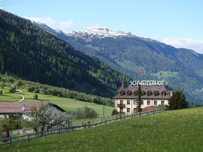 Hotel Schweizerhof in the Swiss Alps