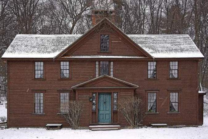 Louisa May Alcott House Orchard House Concord Massachusetts