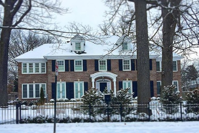 The Home Alone movie house in Winnetka Illinois