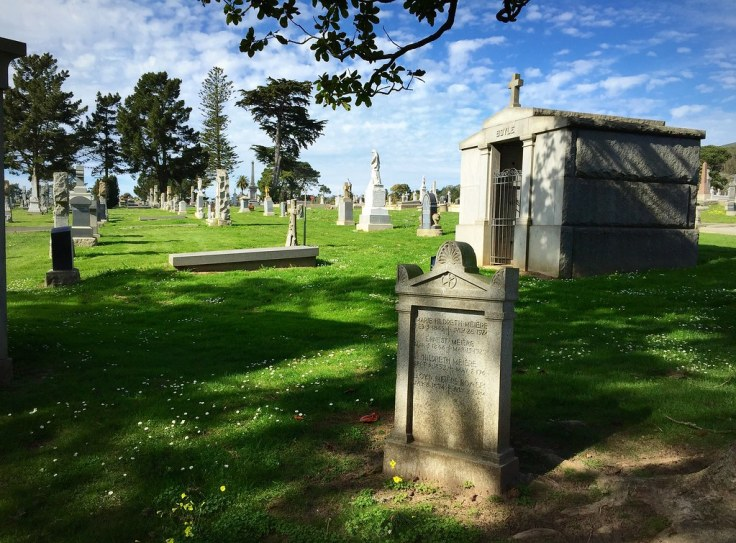 Colma, California Town of The Dead photo