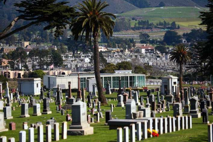 Colma, California Town of The Dead