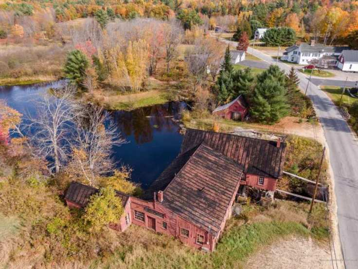 Maine mill converted to home
