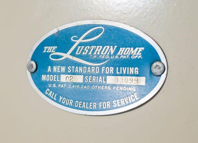 vintage Lustron house