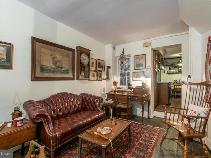 Elfreth's Alley house for sale
