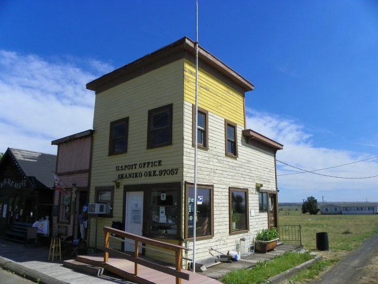 historic country post offices Shaniko Oregon PO