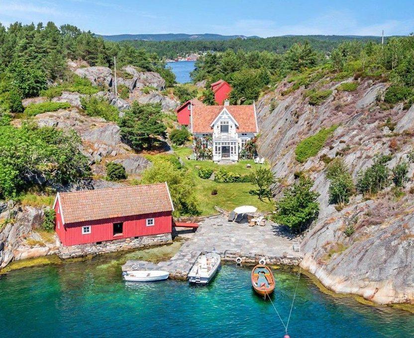 Norwegian dream house for sale
