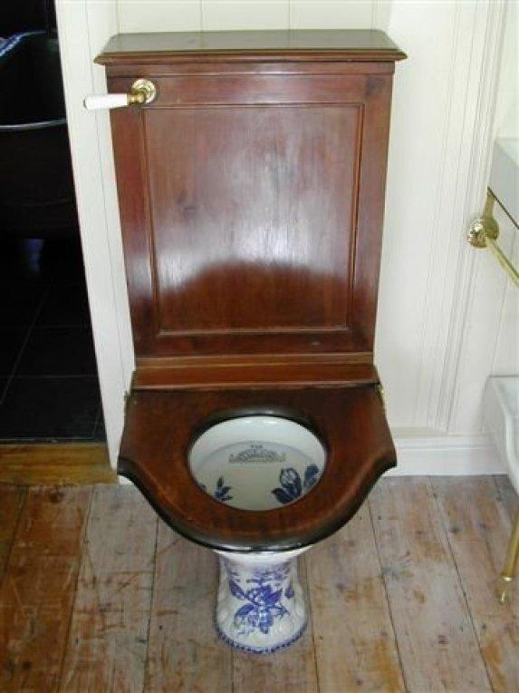 antique toilets